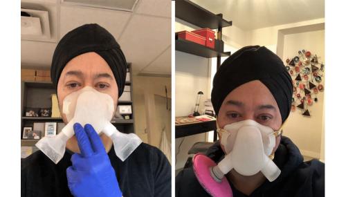 O mască printată 3D este de 8 ori mai eficientă decât N95