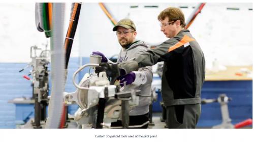 Ford:  Reinventarea producției utilizând imprimarea 3D