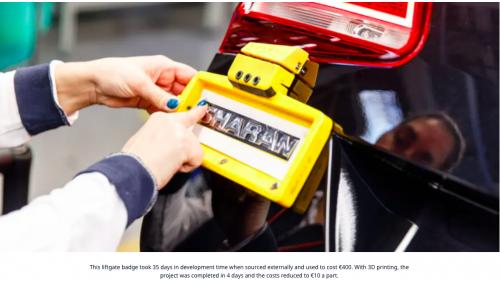 Volkswagen Autoeuropa: maximizarea eficienței producției cu instrumente, modele și accesorii 3D