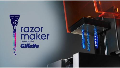 Gillette utilizează printarea 3D pentru personalizarea produselor!
