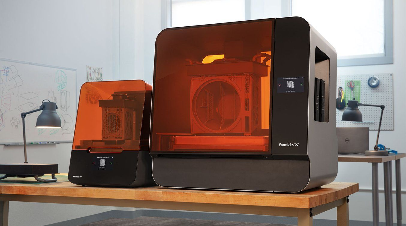 Introducerea imprimantelor Formlabs, Form 3 si Form 3L