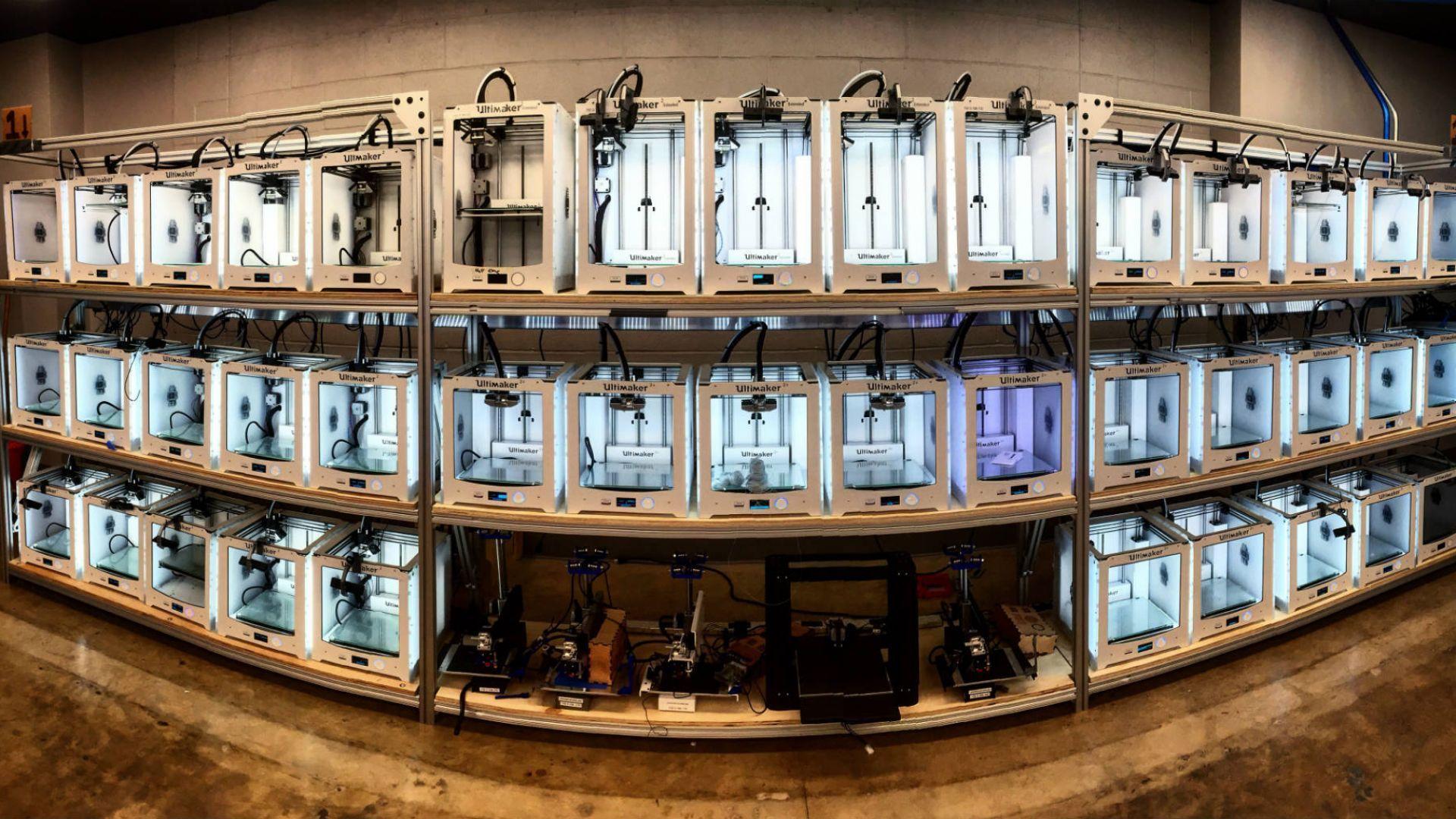 Ferma de imprimante 3D