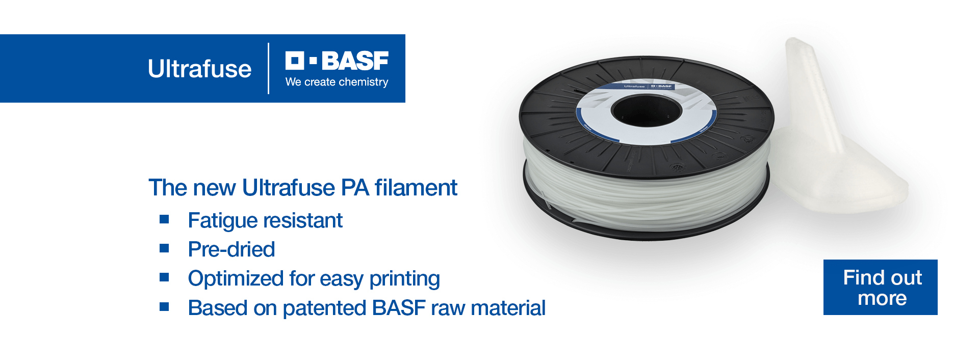 Filament PA BASF Ultrafuse