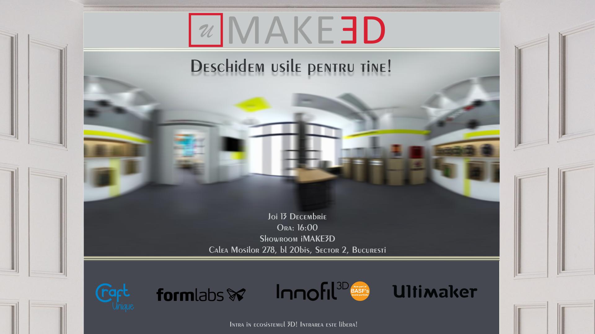 eveniment uMAKE3D