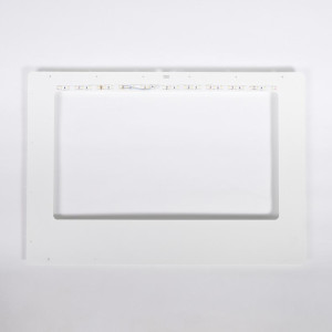 Craftbot Top plate - White - dual