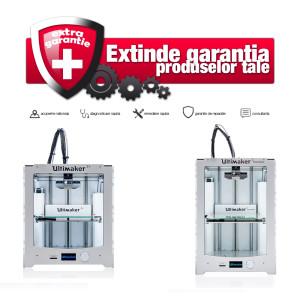 Garantie extinsa imprimanta 3D Ultimaker 2+/2 Extended+